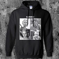 Gummo- Let It Be on a black hooded sweatshirt
