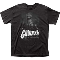 Godzilla- King Of The Monsters on a black shirt