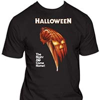 Halloween- The Night He Came Home on a black shirt