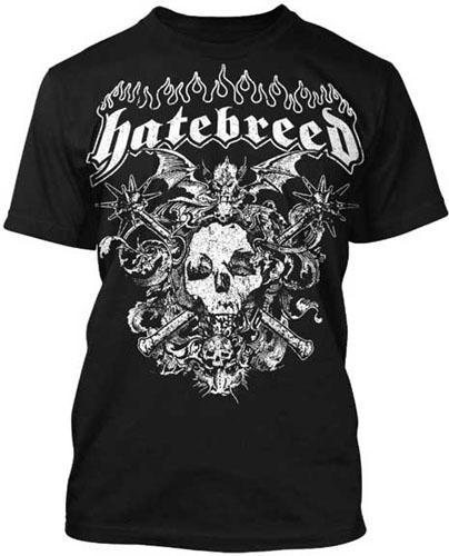 Hatebreed- Winged Skull on a black shirt (Sale price!)