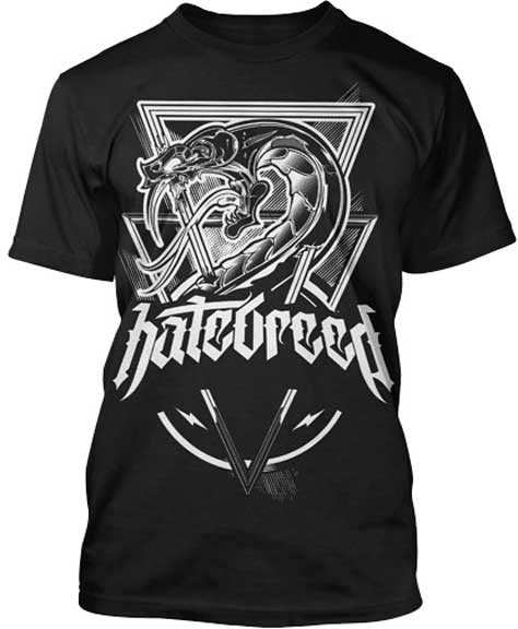 Hatebreed- Venom on a black shirt (Sale price!)