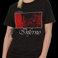 Inferno- Knifed on a black ringspun cotton shirt (Dario Argento)