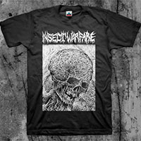 Insect Warfare- Skull on a black shirt