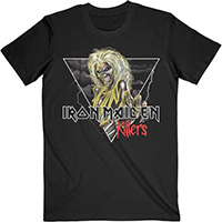 Iron Maiden- Killers Triangle on a black shirt