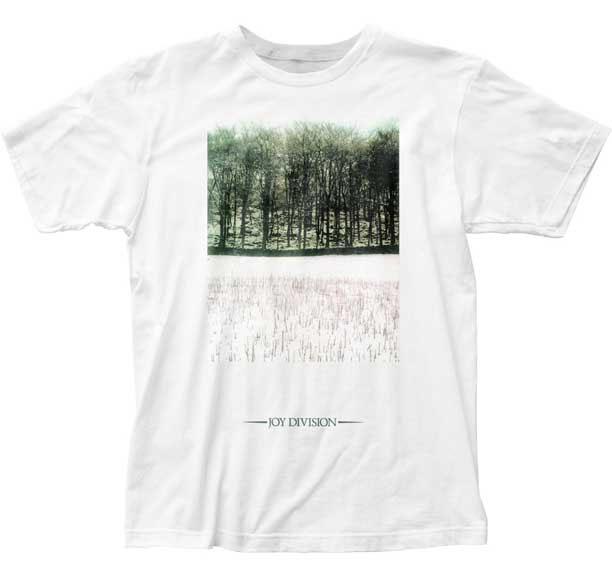 Joy Division- Atmosphere on a white ringspun cotton shirt