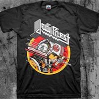 Star Wars/Metal Mashup- Jedi Priest on a black shirt (Judas Priest)
