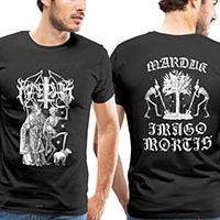 Marduk- Priest on front, Mortis on back on a black shirt