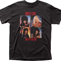 Motley Crue- Shout At The Devil (Band Pics) on a black shirt
