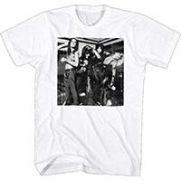 Motley Crue- Uncrued Band Pic (No Logo) on a white ringspun cotton shirt