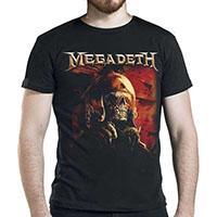 Megadeth- Fighter Pilot on a black shirt