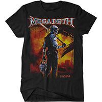 Megadeth- Dystopia on a black shirt