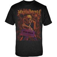 Megadeth- Peace Sells on a black shirt