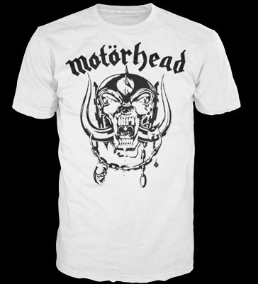 Motorhead- War Pig on a white shirt