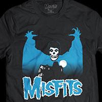 Misfits- Vampire Fiend on a black ringspun cotton shirt