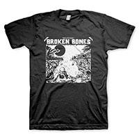 Broken Bones- Decapitated on a black shirt