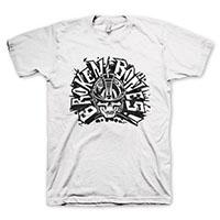 Broken Bones- Skull on a white shirt