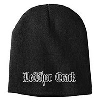 Leftover Crack- Logo embroidered on a black beanie