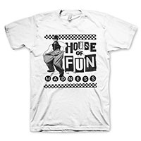 Madness- House Of Fun on a white shirt