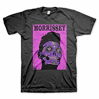 Morrissey- Day Of The Dead on a black shirt