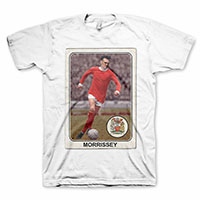 Morrissey- United on a white shirt