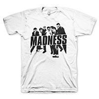Madness- Vintage Band Pic on a white shirt