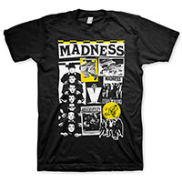 Madness- Cuttings on a black shirt