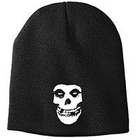 Misfits- Fiend Skull embroidered on a black beanie