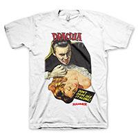 Hammer Films- Dracula on a white shirt
