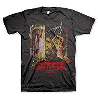 Hammer Films- Frankenstein on a black shirt