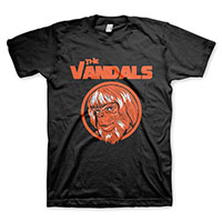 Vandals- Planet Of The Apes on a black shirt