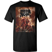 Morbid Angel- Kingdoms Disdained on a black shirt