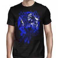 Morbid Angel- Blue Inanna on a black shirt
