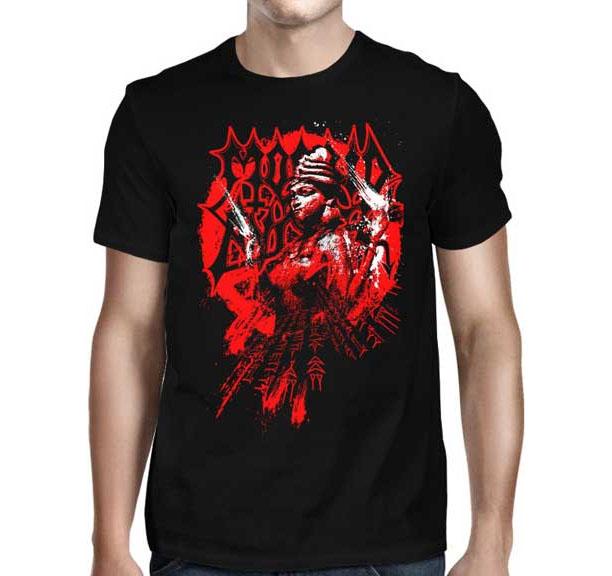 Morbid Angel- Red Inanna on a black shirt