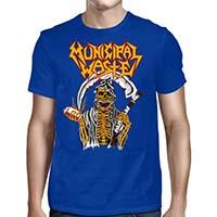 Municipal Waste- Beer Reaper on a royal shirt