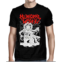 Municipal Waste- Cop Strangler on a black shirt