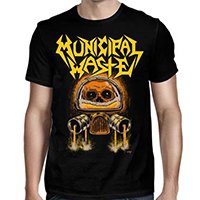 Municipal Waste- Keg Killer on a black shirt