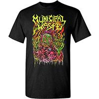 Municipal Waste- Skinner on a black shirt