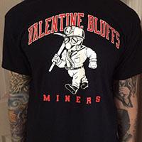My Bloody Valentine- Valentine Bluffs Miners Shirt by Macabre Manor - SALE