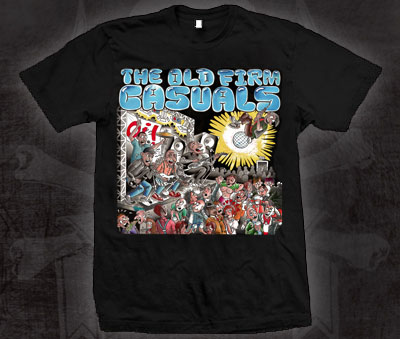 Old Firm Casuals- The Show on a black shirt (Sale price!)