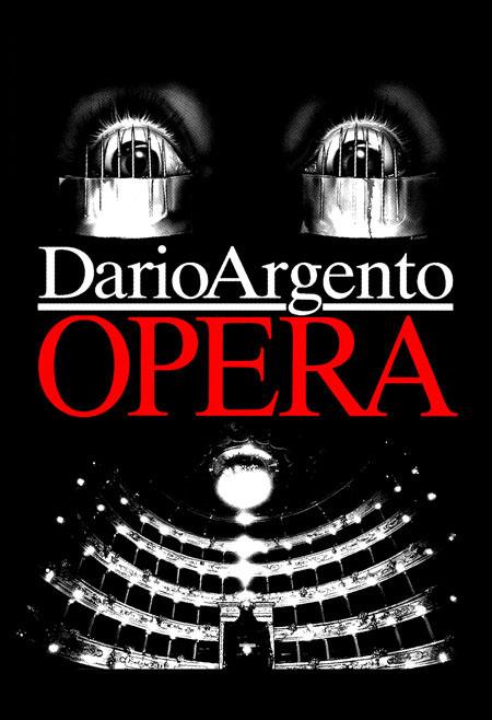 Opera- Opera House Face on a black shirt (Dario Argento)