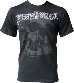 Pennywise- Large Skull on a black shirt (Sale price!)