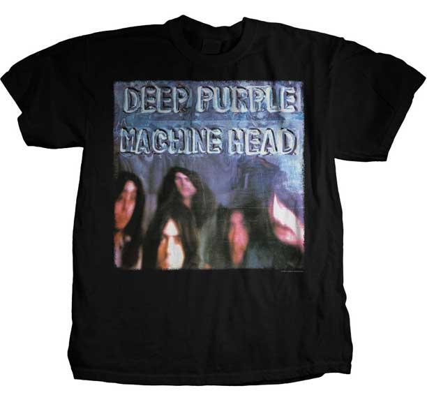 Deep Purple- Machine Head on a black shirt