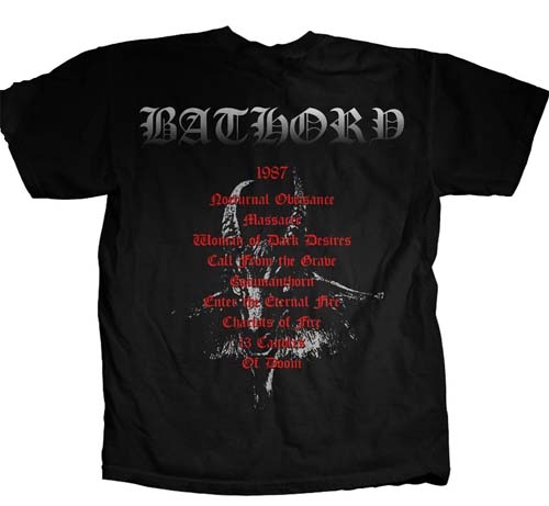 Bathory- Under The Sign Of The Black Mark on front, Goat Head on ...