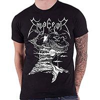 Emperor- The Wanderer on a black shirt