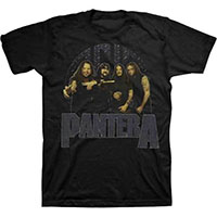 Pantera- Band Pic on a black shirt