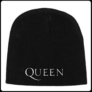 Queen- Logo Embroidered Beanie