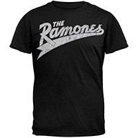 Ramones- Baseball Logo on a black ringspun cotton shirt (Sale price!)