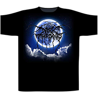 Darkthrone- The Funeral Moon on a black shirt