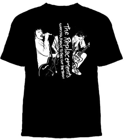 The Replacements Sorry Ma Album T-Shirt, Sizes: YS, XS
