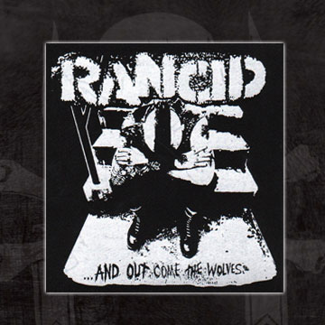 Rancid- And Out Come The Wolves cloth patch (cp291)